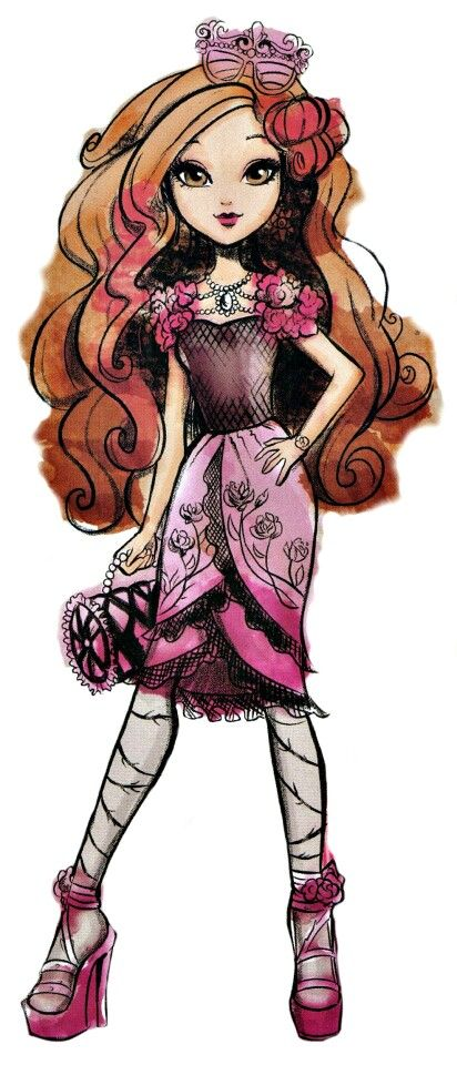 Ever After High Briar Beauty New Profile Art
