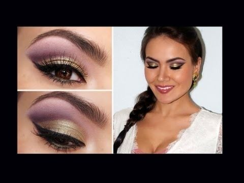 """Spring Fling"" Romantic Eye Makeup ~ If I weren't such a wrinkled old bat, I'd be on this like flies on ... well, you know. ;)"