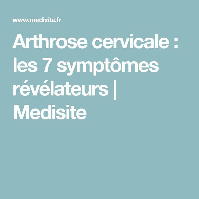 Arthrose cervicale : les 7 symptômes révélateurs | Medisite