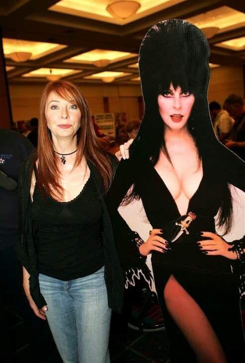 Cassandra Peterson a.k.a. Elvira Mistress Of The Dark