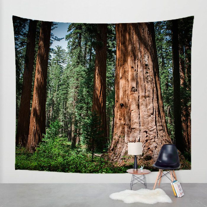 Sequoia Forest Wall Tapestry