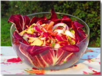 Croatian radicchio and potato salad
