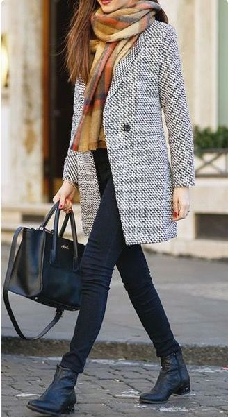 19 casual winter work outfits you should try Moda Otoño 5a113aaa6623