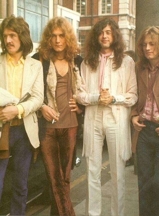 John Bonham, Robert Plant, Jimmy Page, John Paul Jones -- Led Zeppelin