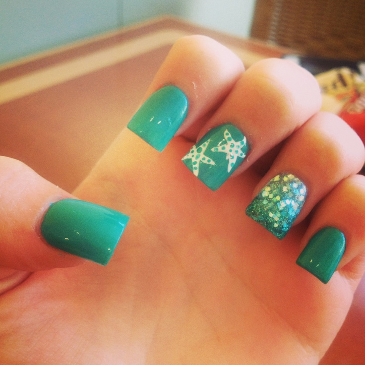 Prom Nail Ideas For Sea