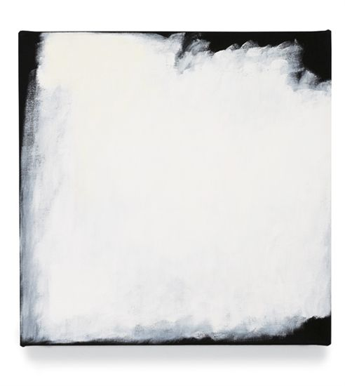 Robert Ryman Series #33 (White), 2004 Oil on canvas 43.2 x 43.2 cm
