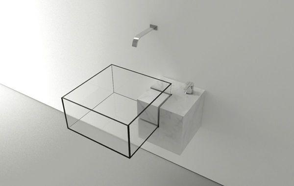 minimalist bathroom sink by Victor Vasilev