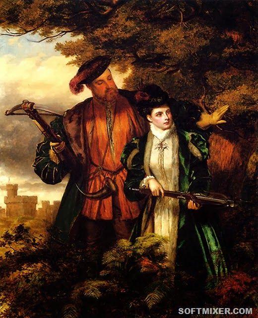 Генрих 8 и Анна Болейн