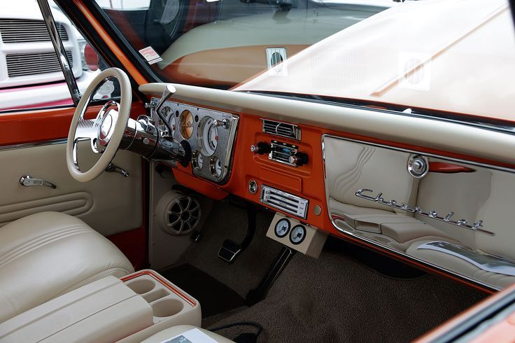 Chevrolet C 10 Dash Chrome Gauge Cluster And Glove Box