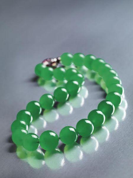 Cartier jade necklace                                                       …