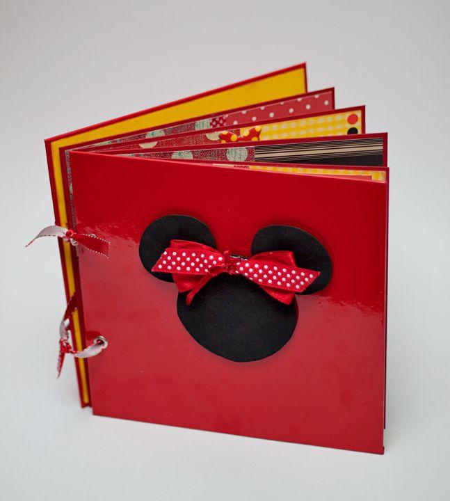 Album Minnie Mouse Scrapbook Mini Albums And Journals
