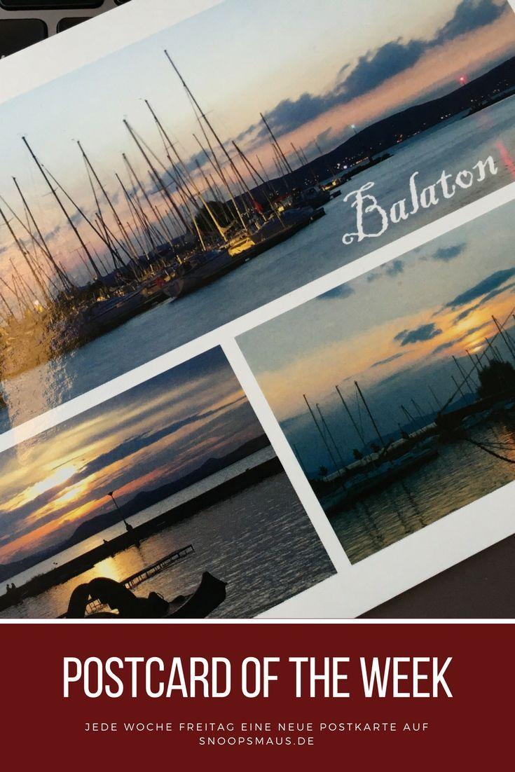 Postcard of the Week von Clemens & Silke: Balaton, Ungarn