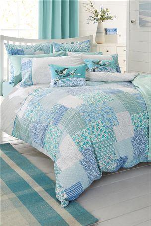 Buy Beachcomber Patchwork Print Bed Set From The Next Uk