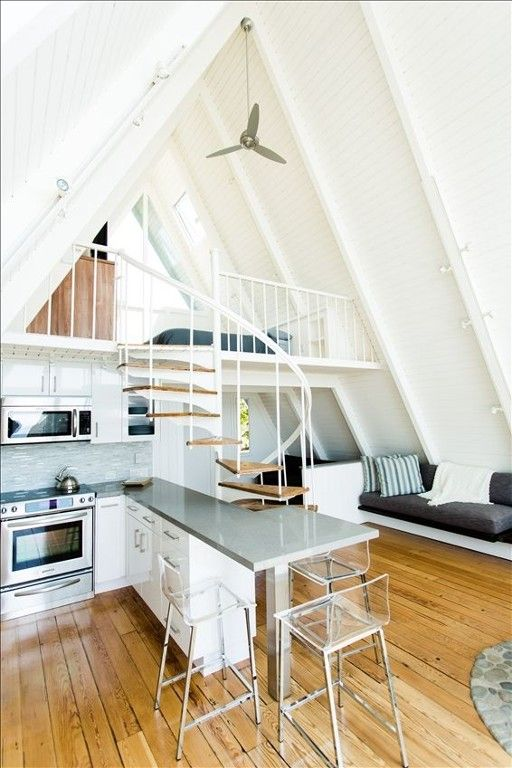 Malibu Vacation Rental - VRBO 411539 - 1 BR Los Angeles County House in CA, Stunning 'a-Frame' on Private Beach in Malibu. Totally Renovated.