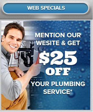 MENTION OUR WEBSITE & GET  $25OFF  YOUR PLUMBING SERVICE*