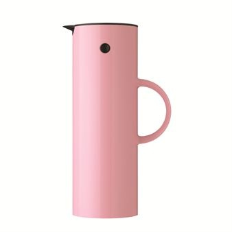 Stelton vacuum pink thermos jug at the Scandinavian Design Centre.