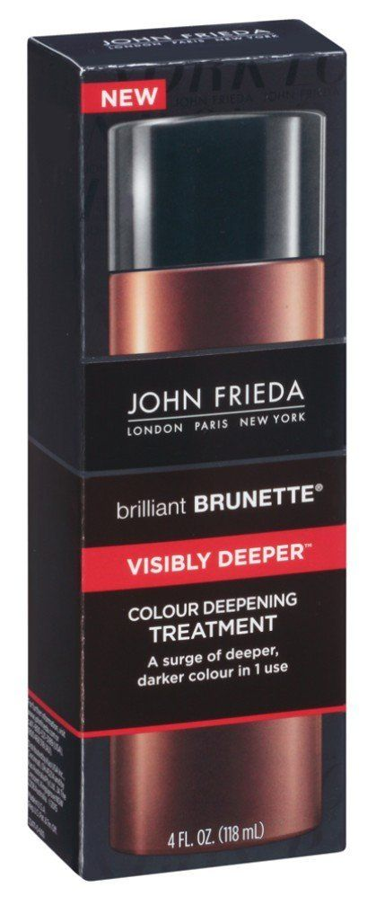 John Frieda Brilliant Brunette Visibly Deeper Colour Deepening Treatment, 4 Oz (Pack of 2) *** Want additional info? Click on the image. #hairstyle