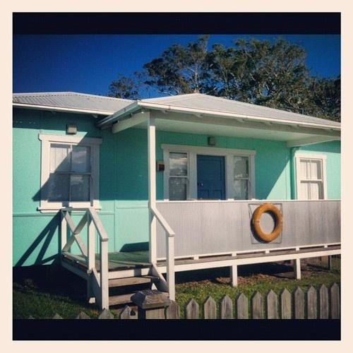 Ahoy Ahoy, aqua fibro beach house #2540.