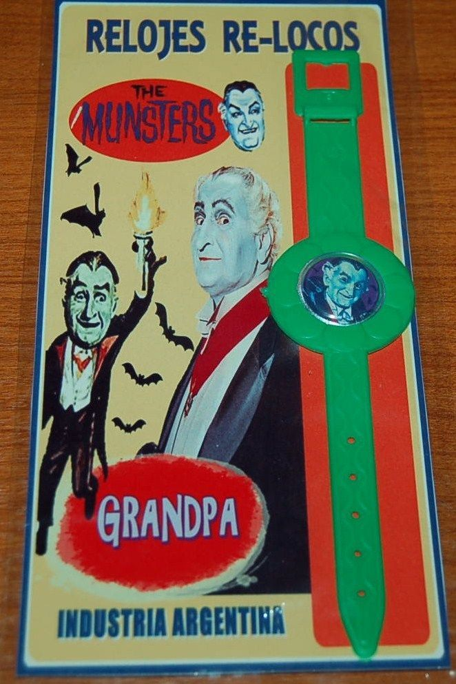 The Munsters Family Grandpa Watch TV Series Plastic Toy Argentina