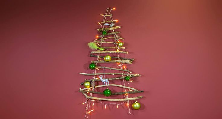 168 best christmas trees without tree images on pinterest for Christbaum alternative