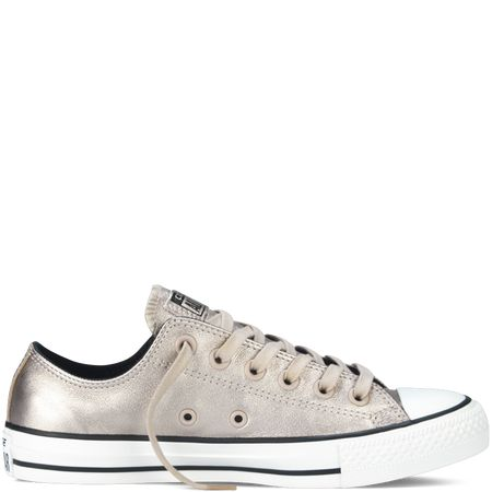 Converse  Chuck Taylor All Star Metallic  Portrait Grey  Low