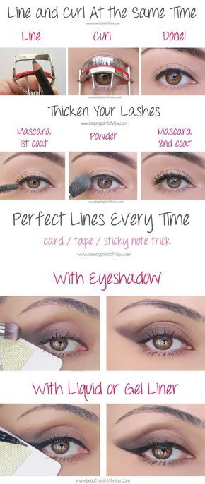 Beauty Hacks for Teens - Eye Makeup Tricks – Must Know - DIY Makeup Tips and Hacks for Skin, Hairstyles, Acne, Bras and Everything in Between - Pictures and Video Tutorials for Girls of All Shapes and Sizes Whether You're Fit or Want to Lose Weight - Get in Shape for Summer with These Awesome Ideas - thegoddess.com/beauty-hacks-teens