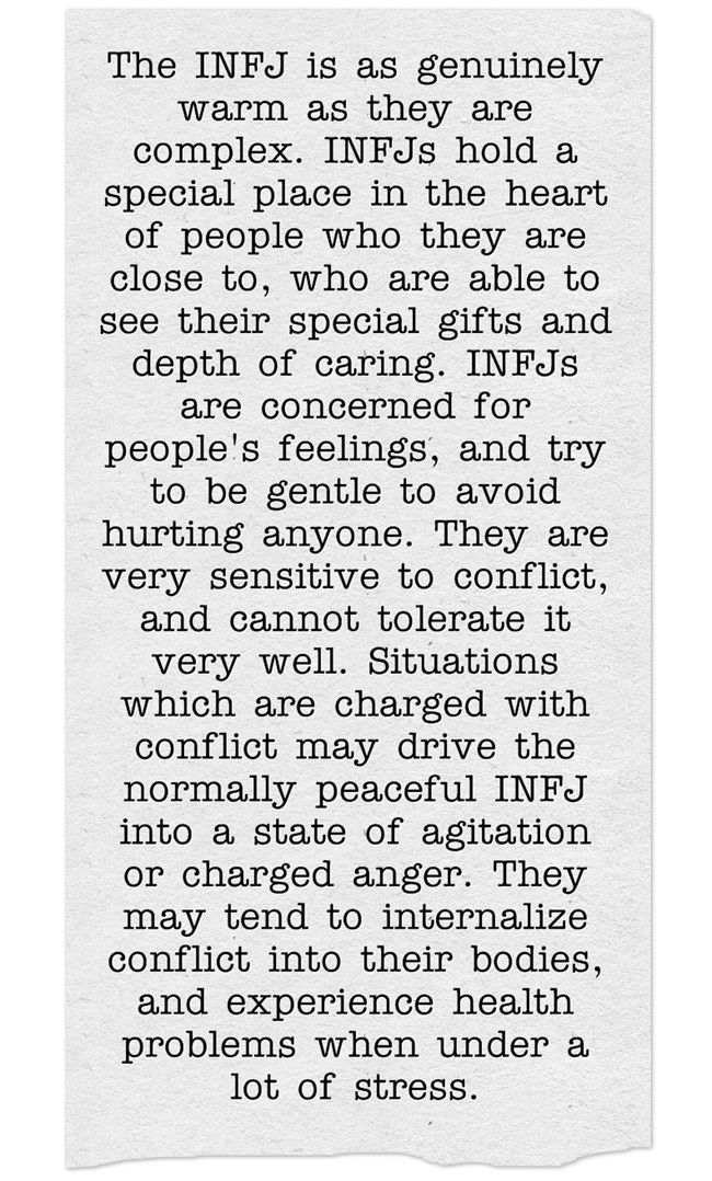 A litlle bit about me. #INFJ