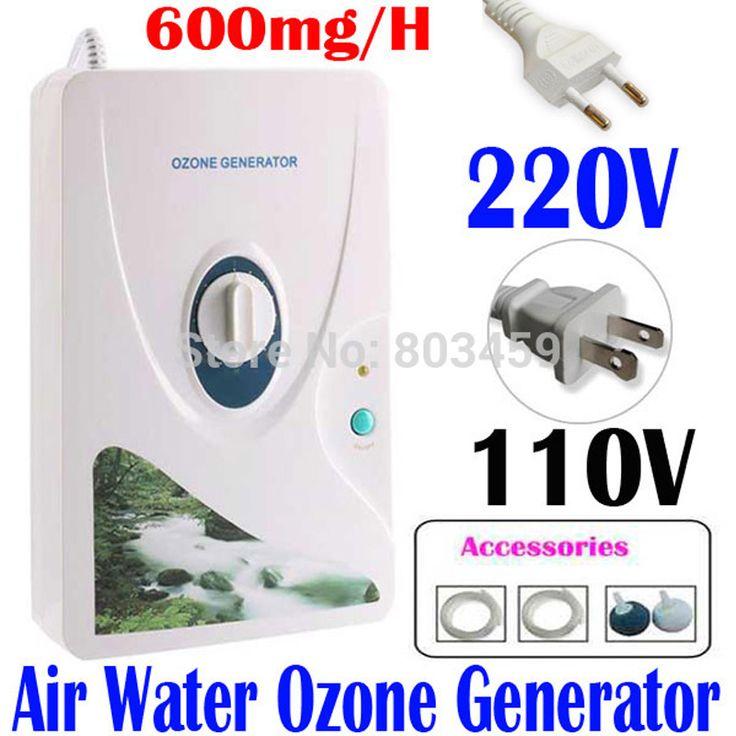 Alta Calidad 600 mg/h 220 V 110 V Generador de Ozono ionizador Ozonizador O3 Temporizador Aire Purificadores de Aceite Vegetal Carne Fresca purificar el Aire de Agua