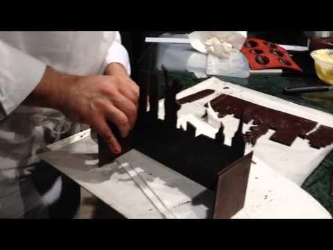 Мастер-класс Рождественские торты - Бюш от Emmanuel Hamon - YouTube