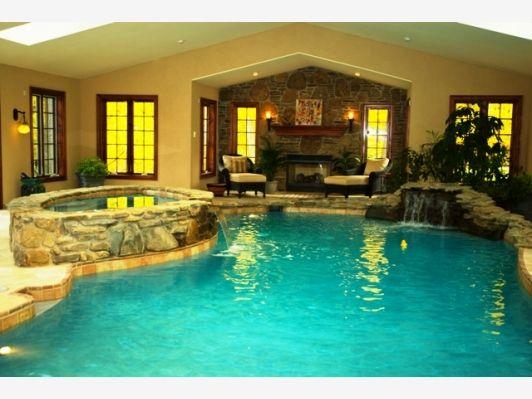 Indoor Home Pool Designs indoor swimming pool design ideas antique style Custom Indoor Pool Design