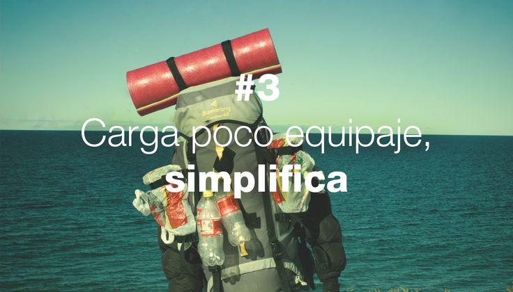 Manifiesto Derivásico - #3 Carga poco equipaje, simplifica  http://derivasia.com/project/carga-poco-equipaje-simplifica/