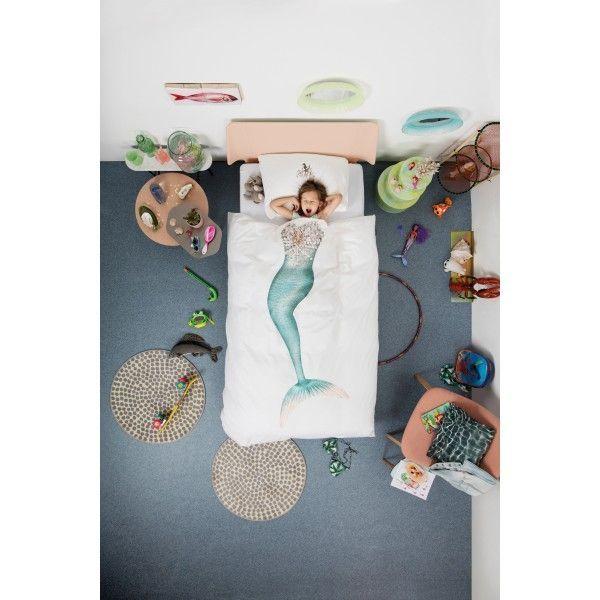 @SNURKbedding  Mermaid dekbedovertrek  #mooi #onderwaterleven #zeemeermin #bed #snurk #snurken #dromenland #slapen #iedereen #fantasie #origineel #dekbed #dekbedovertrek #design #Flinders