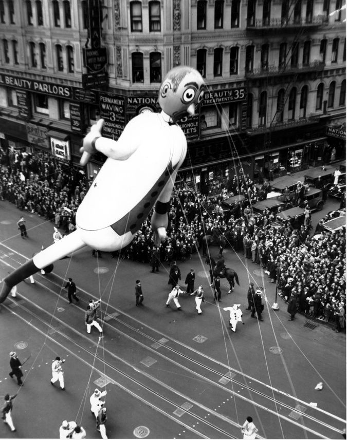 images of old macy's thanksgiving parade | Old Macy's Thanksgiving Day Parade Balloons Were Really Creepy