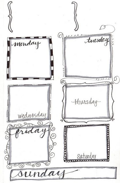 Top 25+ Best Weekly Planner Printable Ideas On Pinterest | Weekly