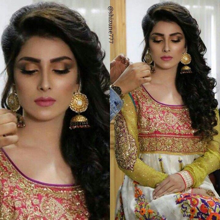 Gorgeous Ayeza Khan #TheMostBeautiful #Elegant #Decent #Cute #Pretty #Adorable ♥