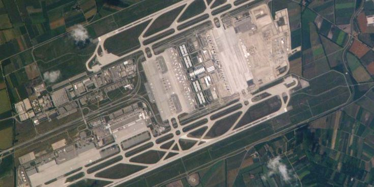 Der Franz Josef Strauss Flughafen von München wurde 1992 eröffnet und ist hinter Frankfurt Airpo...