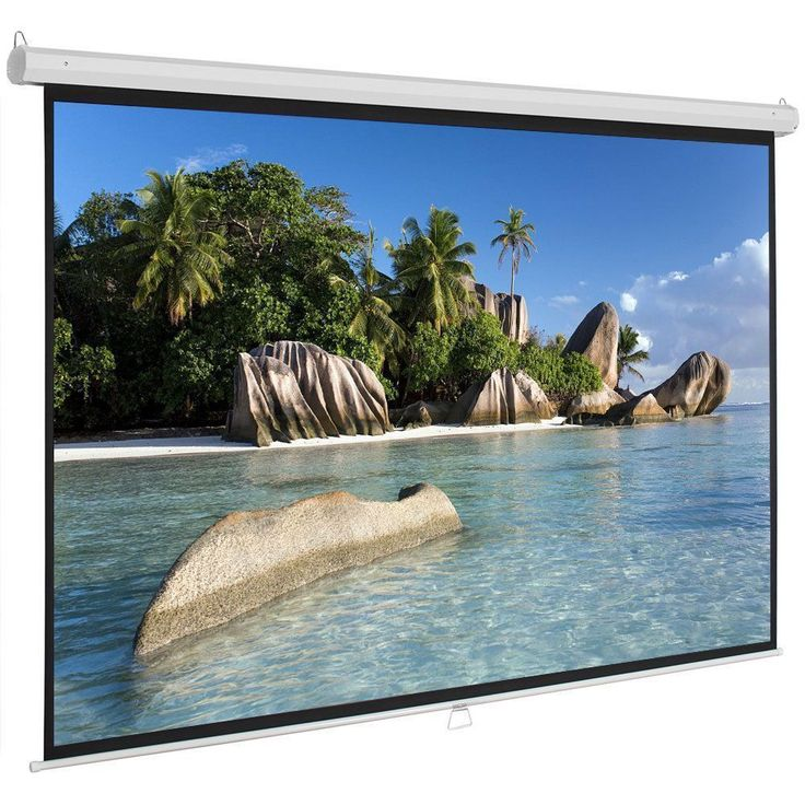 "Introductions: 100"" 16:9 87"" x 49"" Viewing Area Manual Projector Screen, can offer you a perfect visual enjoyment with optimal image and color reprodu... #video #audio #projection #home #projector #screen #accessories #screens #material #electronics #consumer #pull #down #sale #theater #manual #hometheateraccessories #hometheaterprojectorscreen"