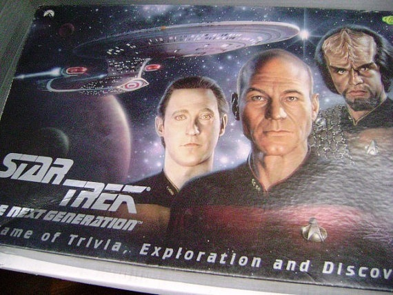 Vintage Star Trek Board Game The Next Generation by junquegypsy, $25.20