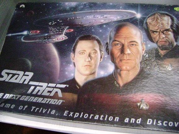 Vintage Star Trek Board Game The Next Generation by junquegypsy, $25.20