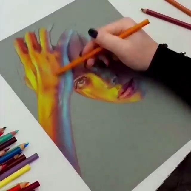 This Pencil Portrait Art