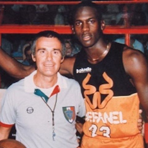 MJ back in the days in Italia