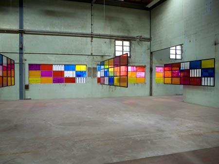 DANIEL BUREN, Galleria Continua Les Moulins. Courtesy GALLERIA CONTINUA San Gimignano / Beijing / Les Moulins / Habana.