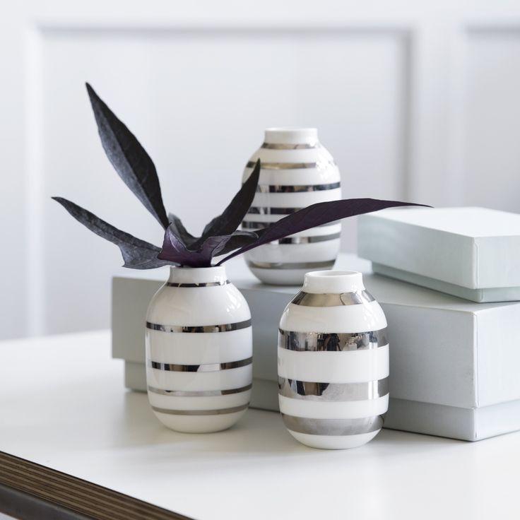 Kahler Design Omaggio Mini Vase 3 pack