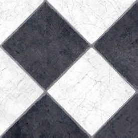 Tarkett FiberFloor French Marble Black & White