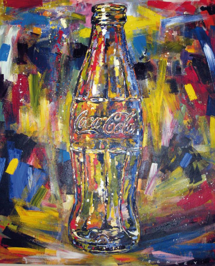 Steve Penley's Coke Art – Bold, Impassioned & Vivid « Coca-Cola Art Gallery