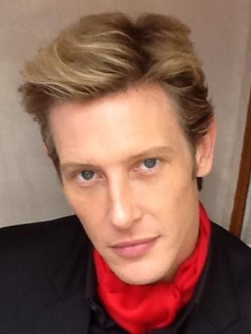 "Gabriel Mann  Love this ""Mann's"" sky blue eyes, snow white skin, full lips and seductive voice.  I understand why he was a fashion model."