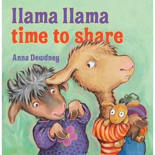 Llama Llama Time to Share - Fun to read aloud and helpful to children and parents alike #character-education