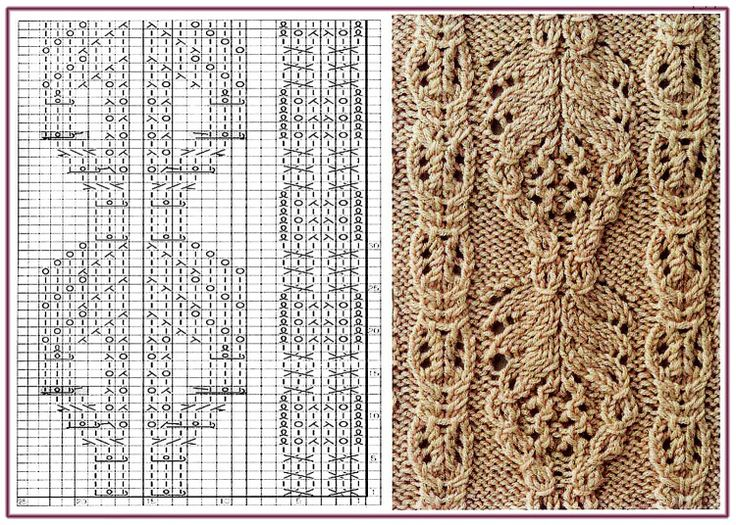 Knitting Irish Stitches : 292 best TRICOT POINT DIVERS images on Pinterest Stitch patterns, Knitting ...