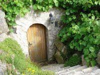 Wejście do piwniczki