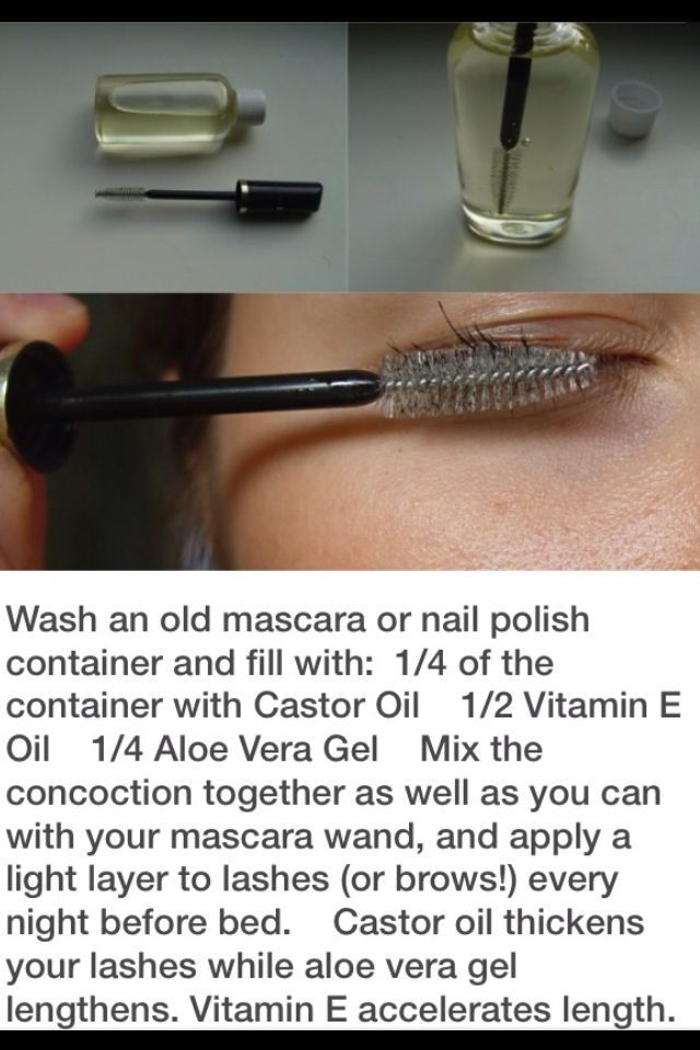 how to get longer lashes wikihow